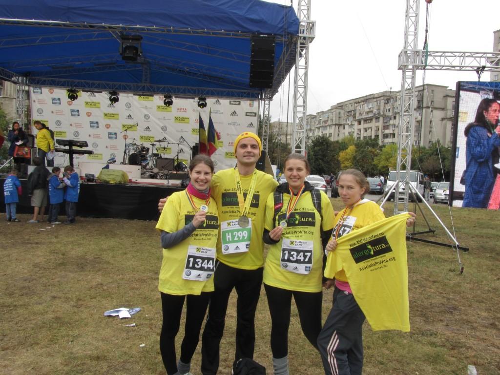 Alergotura Maraton Bucuresti-2011