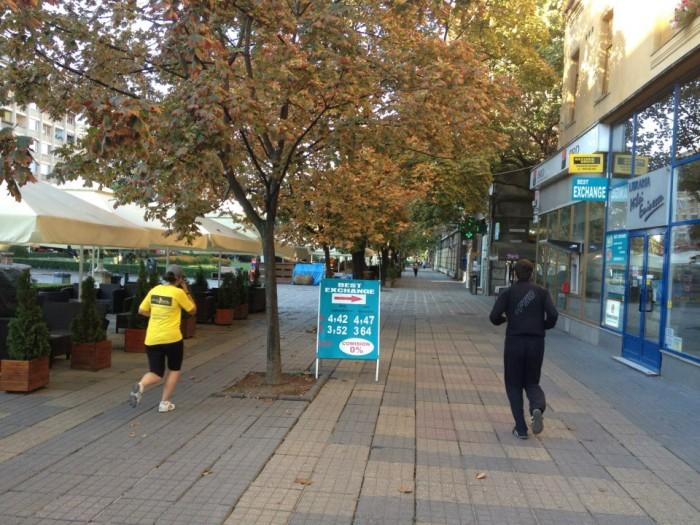 Otto a alergat 10 km fără oprire