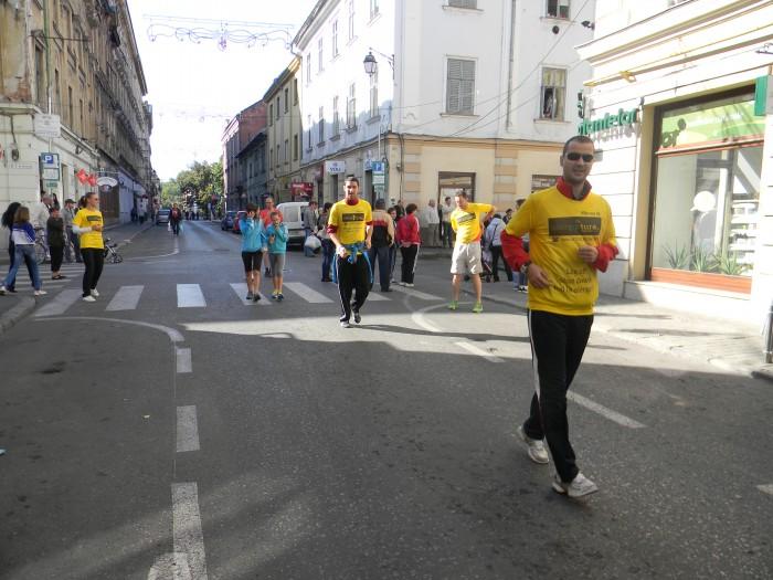 Alergare usoara si strigare pentru alergare