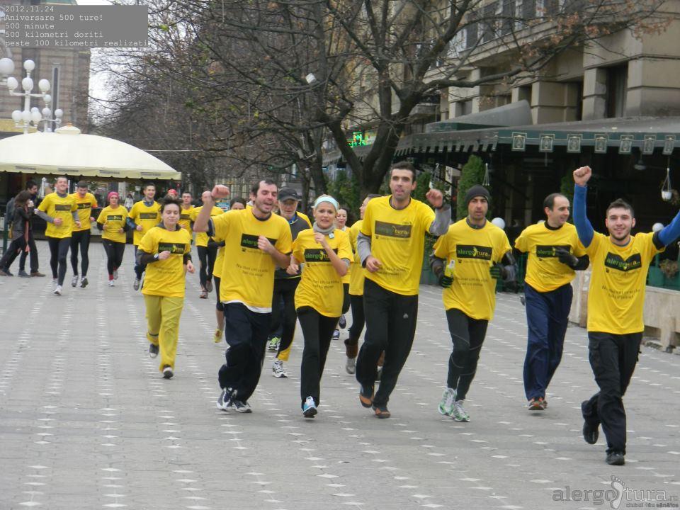Alergatori la evenimentul de record din Timisoara