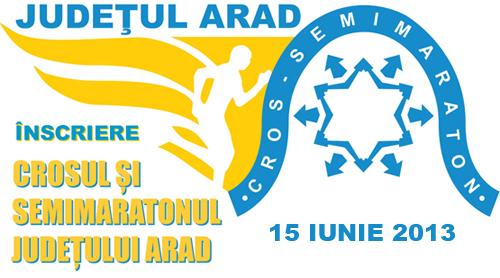 CROS SEMIMARATONUL  ARAD - 2013 alergotura