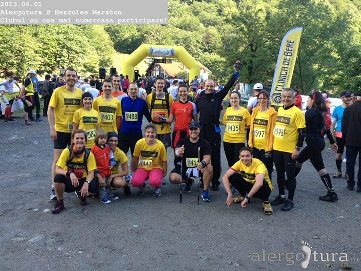 alergotura la maraton semi Herculane Hercules 2013