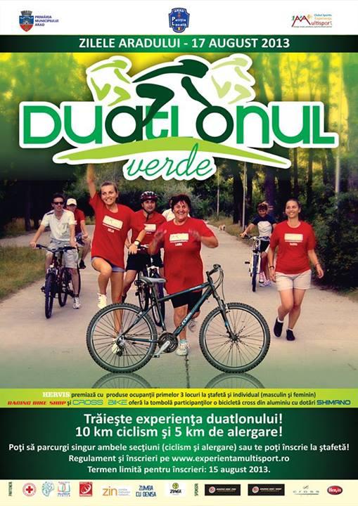 Duatlonul Verde, Arad