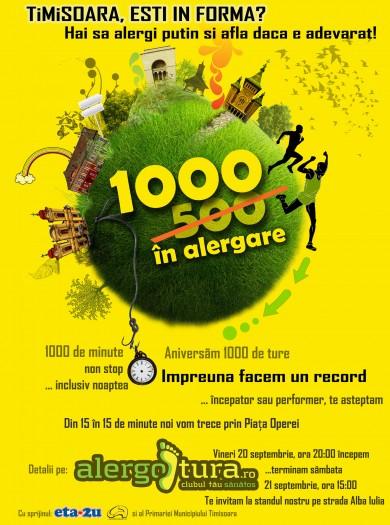 Timisoara esti in forma 1000 ture alergotura 2013