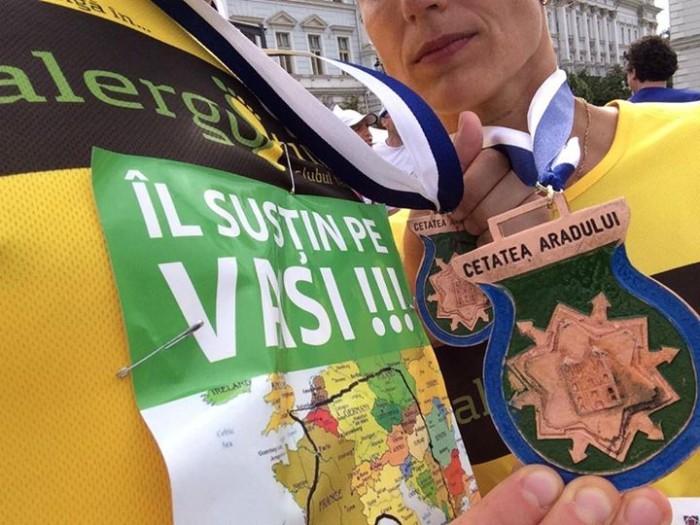 Vasile Stoica sprijinit de Alergotura Parteneriatul dintre noi si Arad a dat roade! Participand, Timisoara a castigat doua premii! Poze si parerea noastra despre eveniment